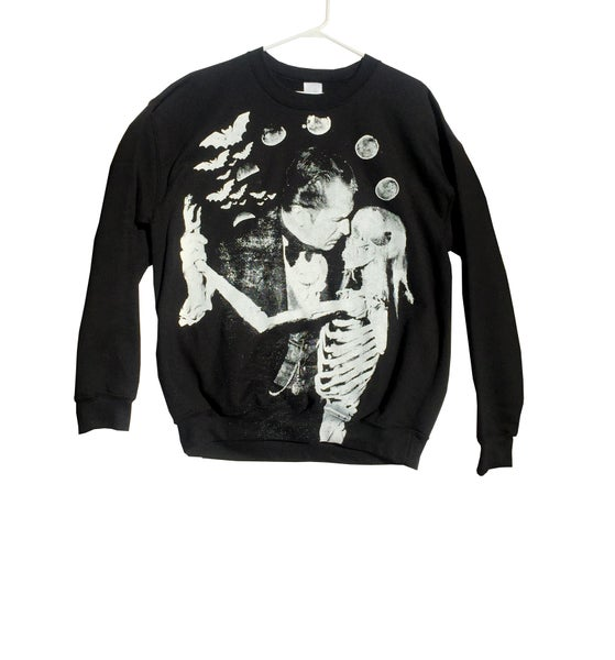 Image of Vincent Price 'Dance of the Dead' Unisex Sweatshirt