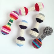 Image of Classic Crochet Baby Rattle