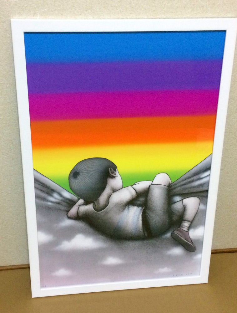Image of Over The Rainbow By SETH Edition Print