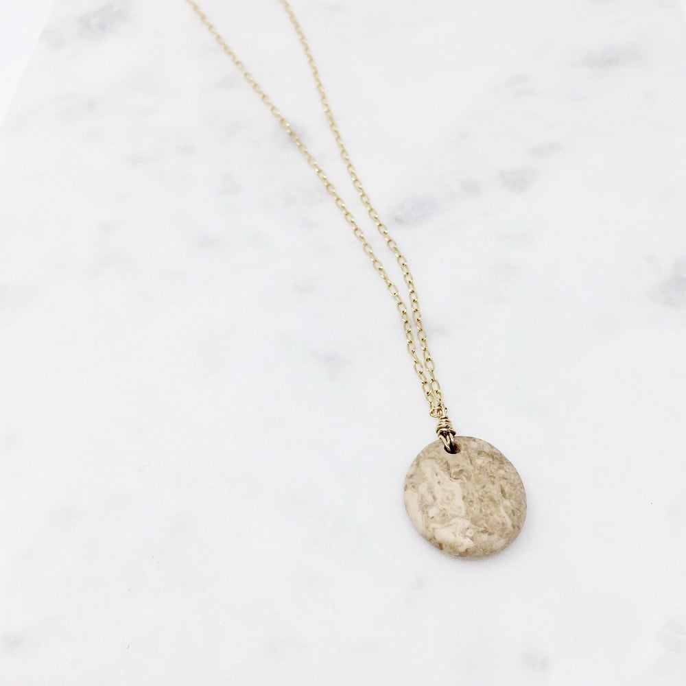 Image of Beach Pebble Necklace