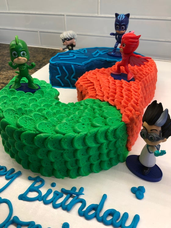 Image Of Dominics Birthday Cake
