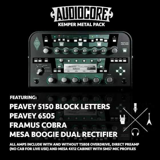 Image of Audiocore Kemper Metal Pack