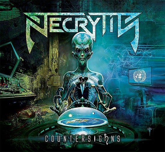 "Image of NECRYTIS ""COUNTERSIGhNS"" CD 2017"