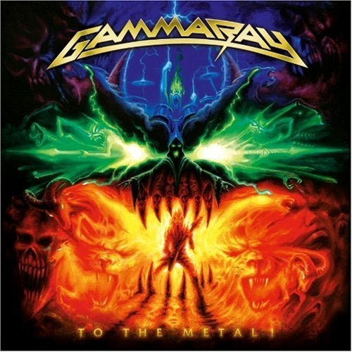 "Image of GAMMA RAY ""To The Metal"" CD/DVD 2010"