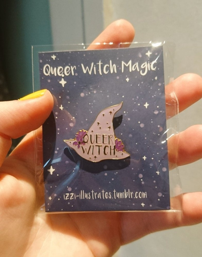 Image of Queer Witch Enamel Pin