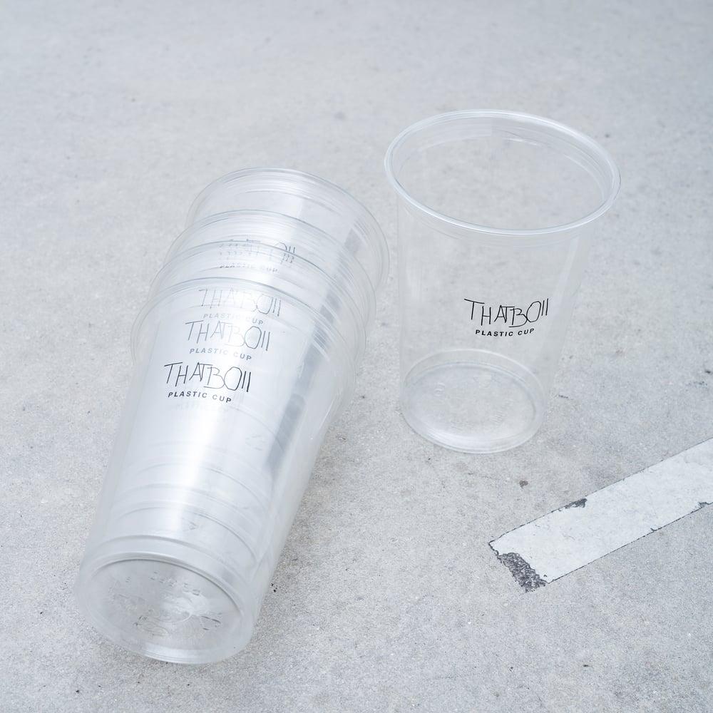 Image of THATBOII - PLASTIC CUPS