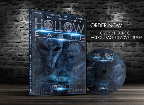Image of HOLLOW EARTH CHRONICLES Episode I: The Dark Chambers DVD