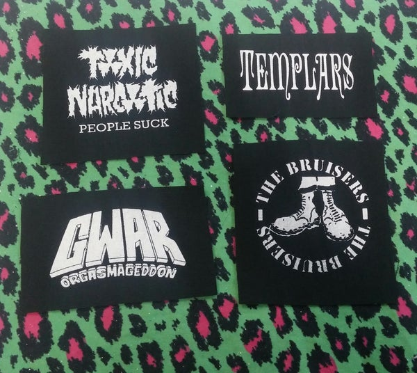 Image of Pick 1 patch - Toxic Narcotic, Templars, Bruisers
