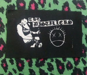 Image of Pick 1 patch - Devotchkas, Distillers multi logo, Bauhaus, Generation X