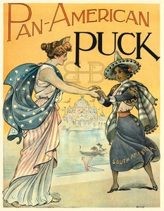 Image of Pan-American Puck - North & South America Meeeting
