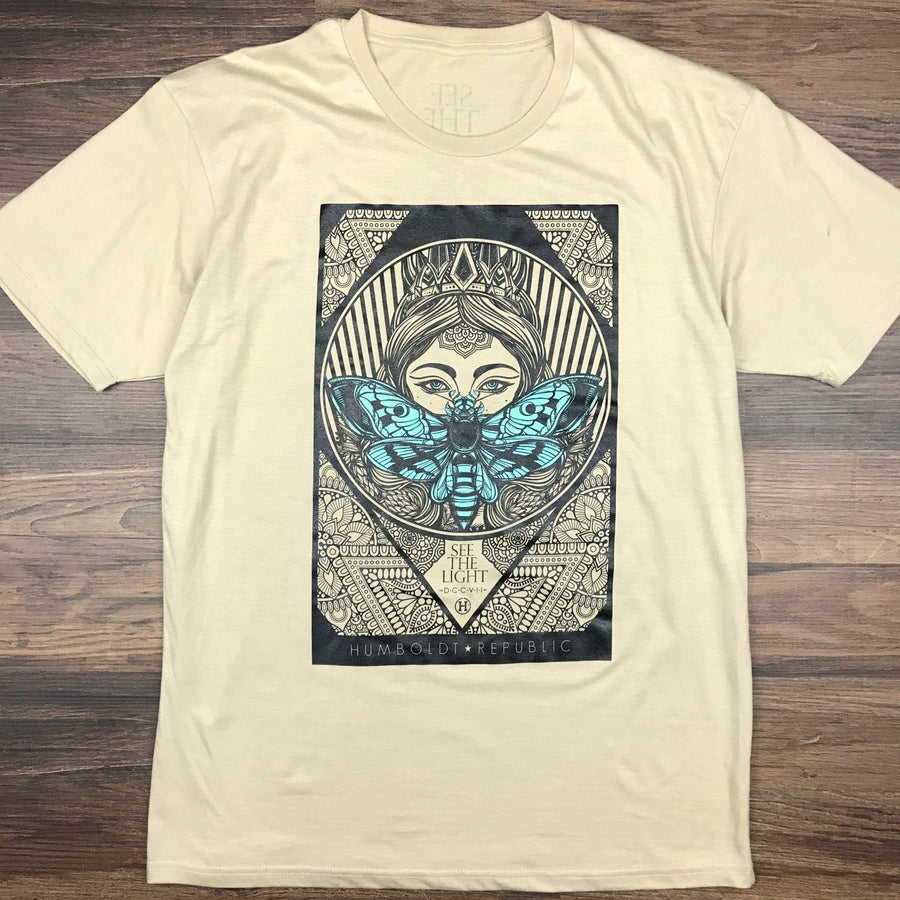 "Image of ""Like Moths to Flames"" Men's Premium Tee"
