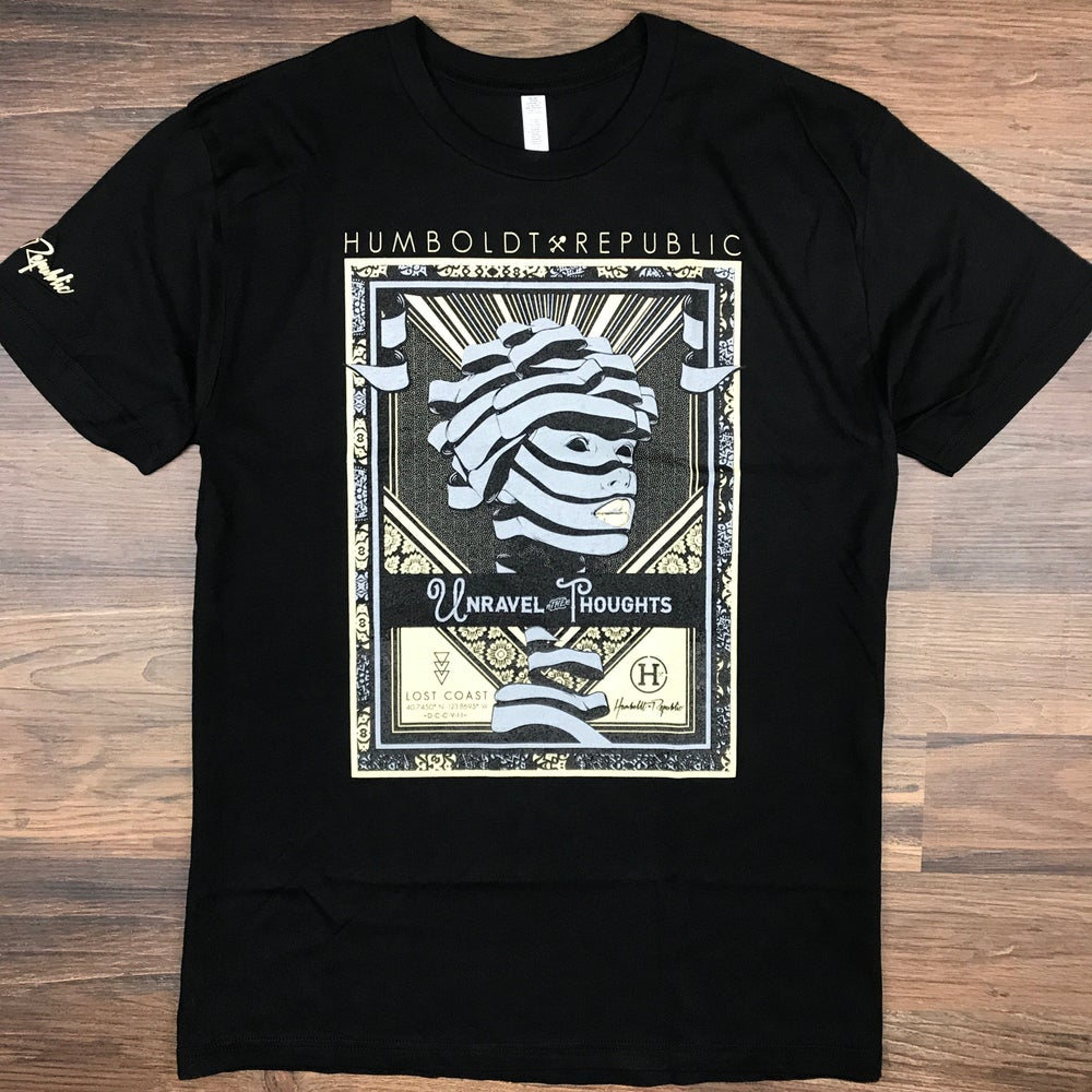 "Image of ""Unraveled"" Men's Modal Tee"