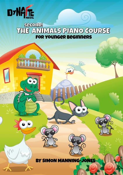 Image of The 2nd Animals Piano Course!