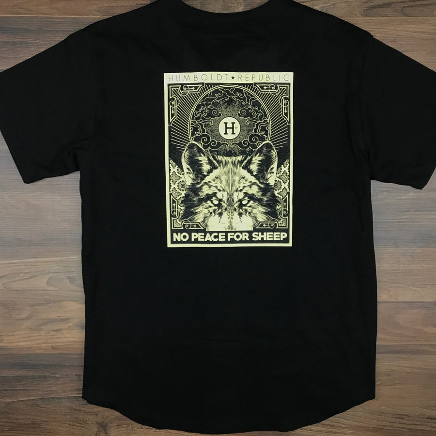 "Image of ""Peace for Sheep"" Men's Limited Edition Jersey"