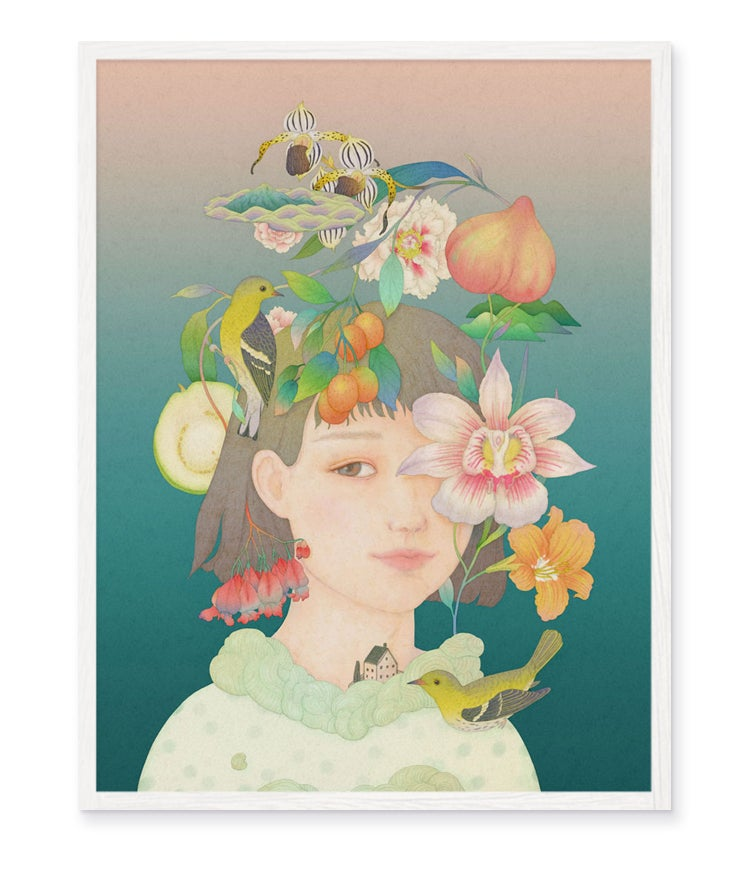 Image of Girl from the Orchid Land