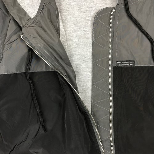 "Image of ""Metalwork"" Men's Contrast Windbreaker Jacket"