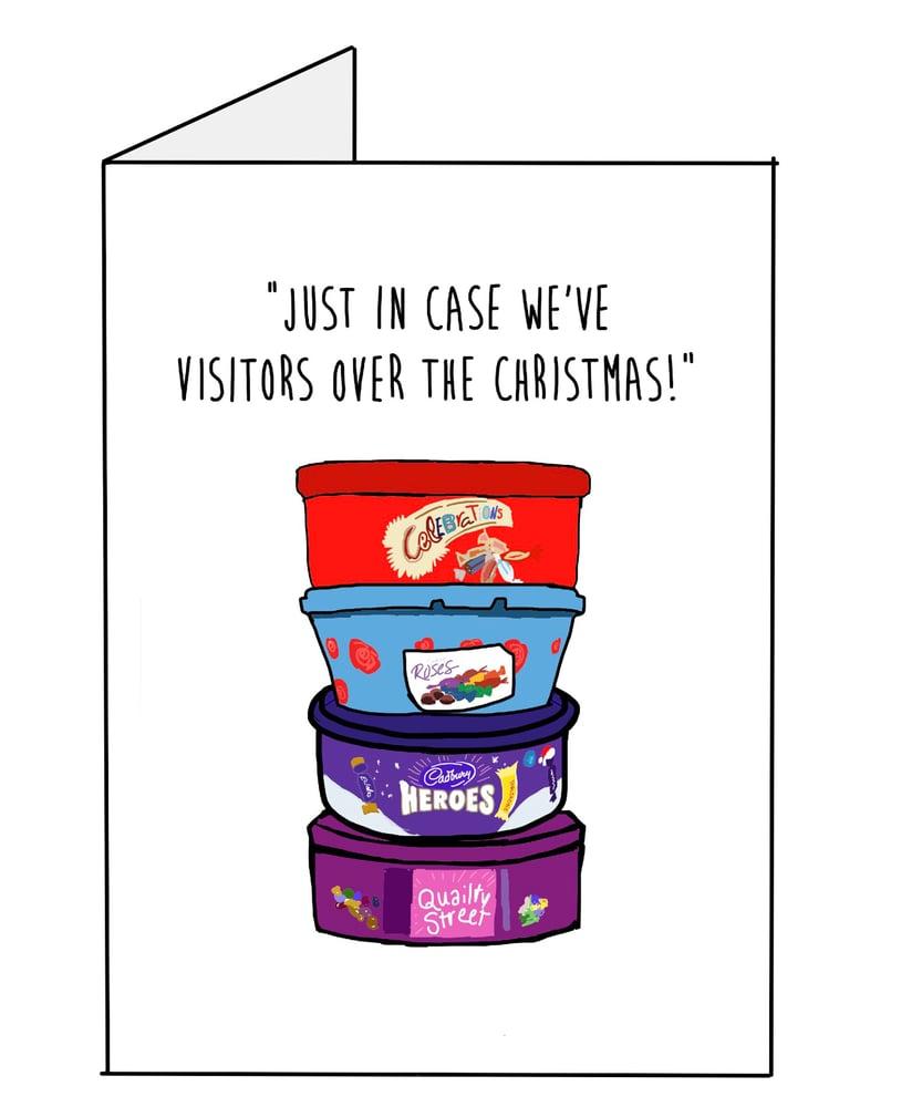 Image of Visitors- Christmas