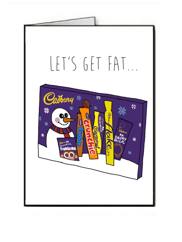 Image of Let's get Fat - Christmas