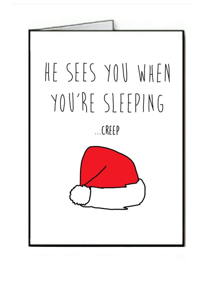 Image of Santa Creep - Christmas
