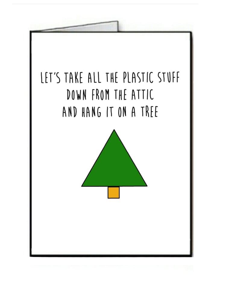 Image of Plastic Stuff - Christmas