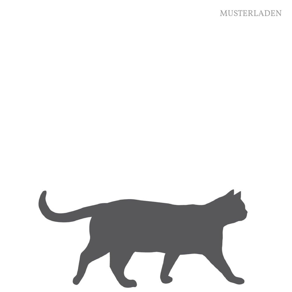 Image of Wandaufkleber Katze Feli