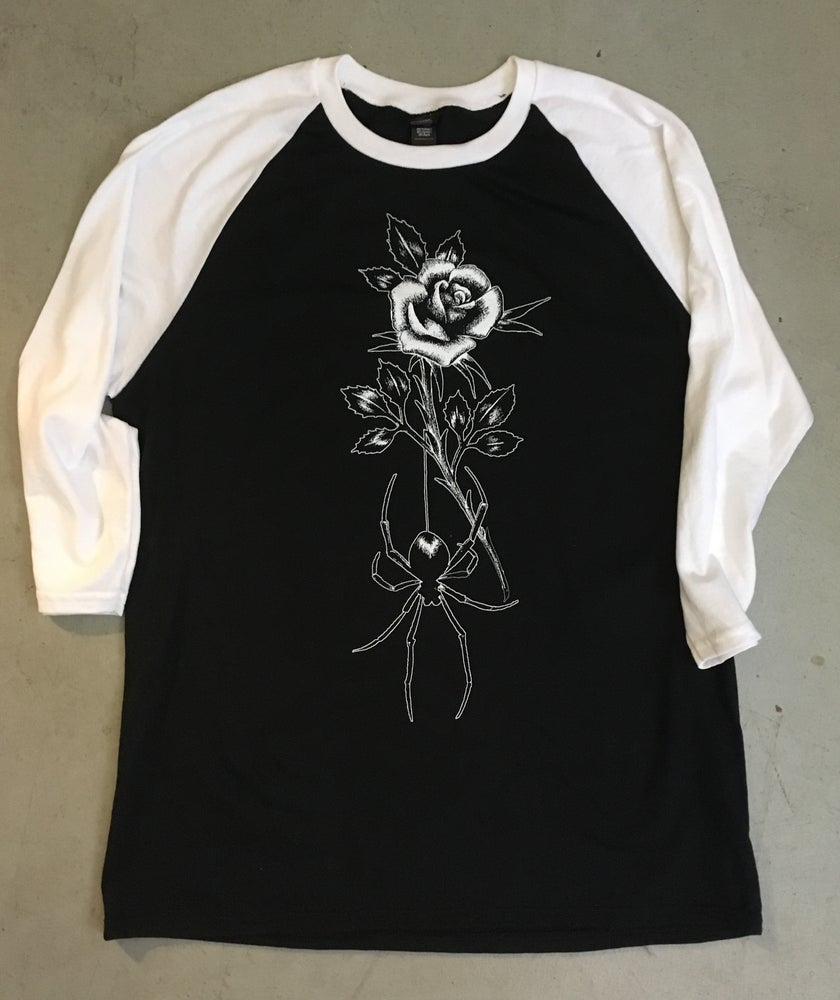 Image of ROSE & SPIDER RAGLAN
