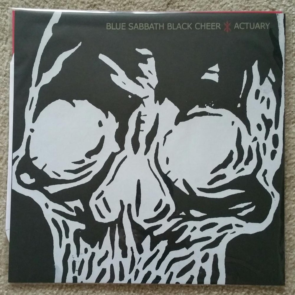 Image of Blue Sabbath Black Cheer / Actuary - Split