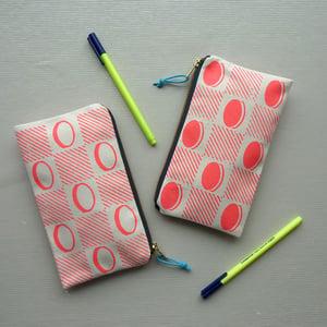 Image of Checkerboard pencil case