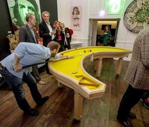 Image of Classic Banana Pool Table