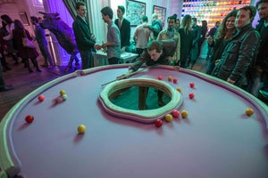 Image of Doughnut Pool Table