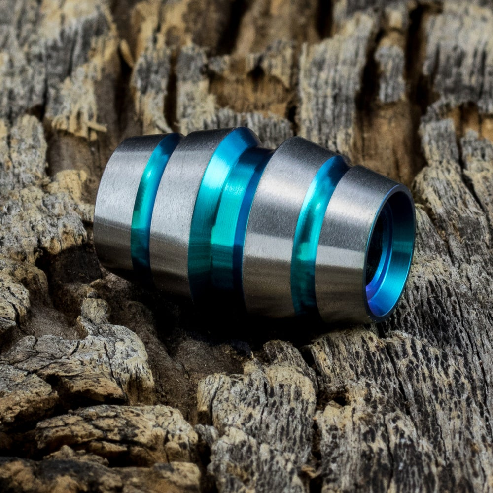 Image of Raptor Aqua Ti Bead #1