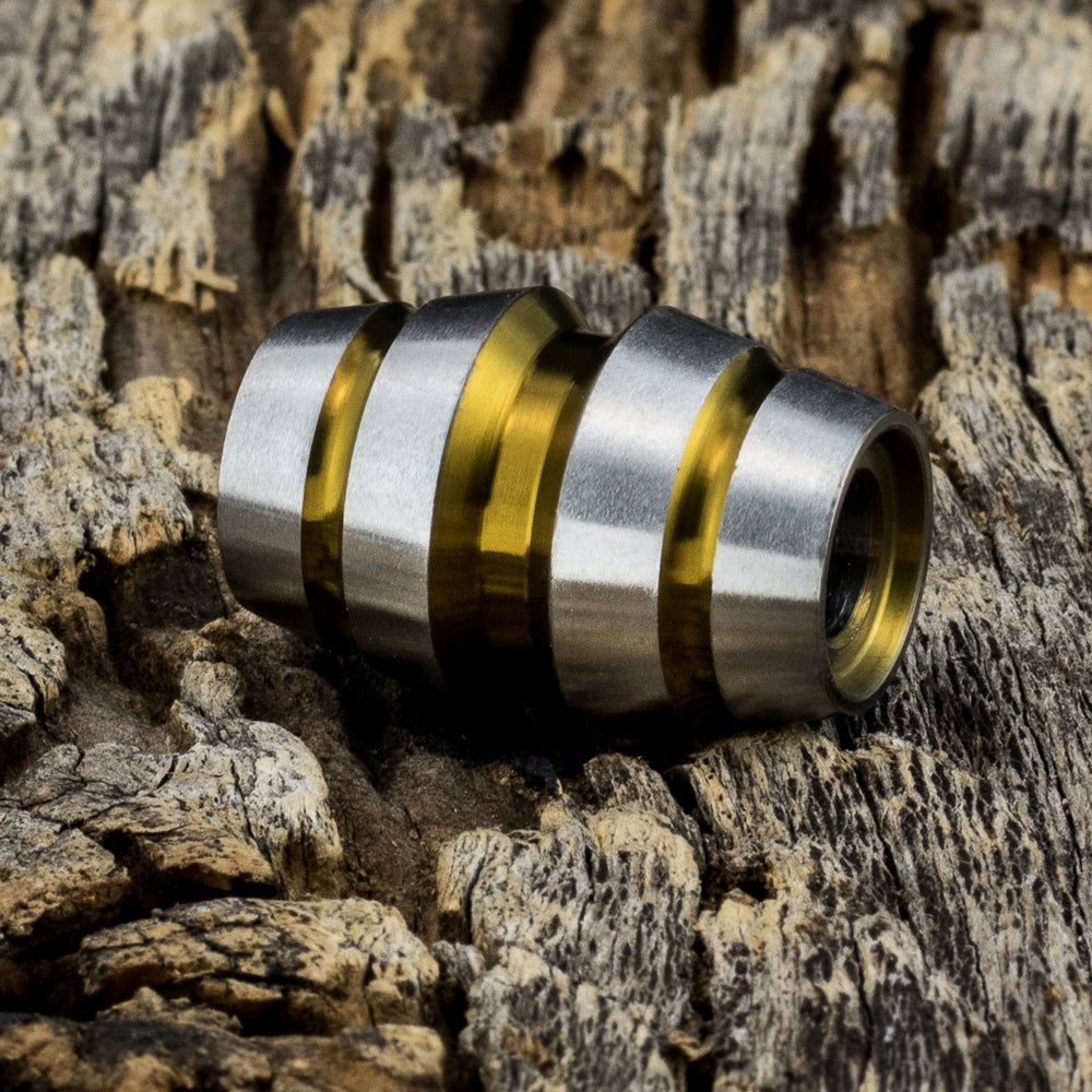 Image of Raptor Bronze Ti Bead #1