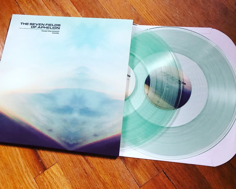 "Image of the seven fields of aphelion ""Keep the Ocean Inside"" 2xLP BACK IN STOCK"