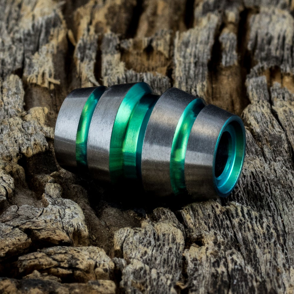 Image of Raptor Green Ti Bead #1