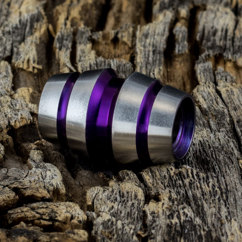 Image of Raptor Deep Purple Ti Bead #1