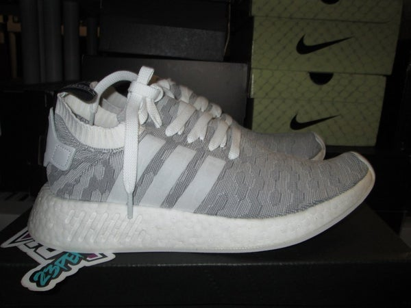 "addias NMD R2 PK ""Grey/Pink"" - areaGS - KIDS SIZE ONLY"