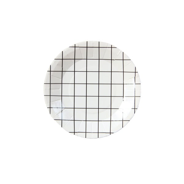 Image of Grid Mini Canape Plates