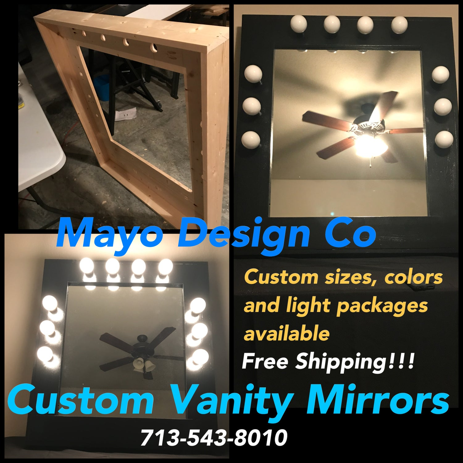 Image of Custom Vanity Mirror