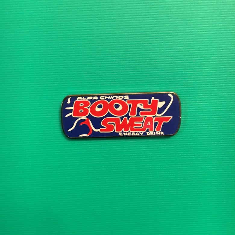 Image of Booty Sweat Lapel Pin