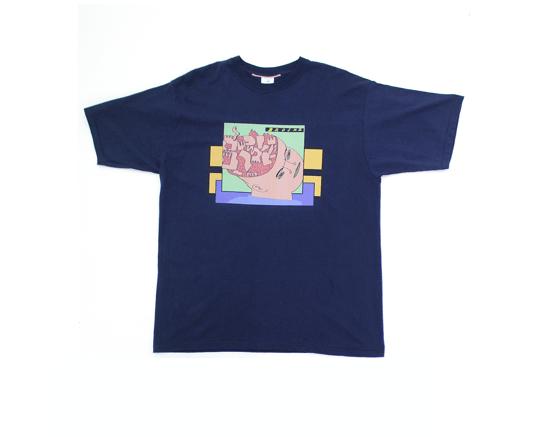 Image of Broski - Brain Broth T Shirt Navy