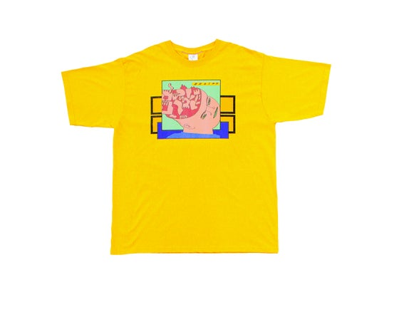 Image of Broski - Brain Broth T Shirt Gold