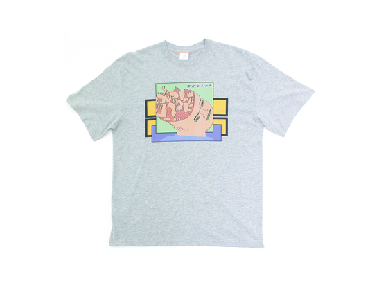 Image of Broski - Brain Broth T Shirt Grey