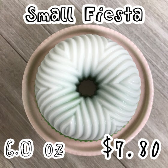 Image of Small Fiesta Wax Cake, 6 oz.