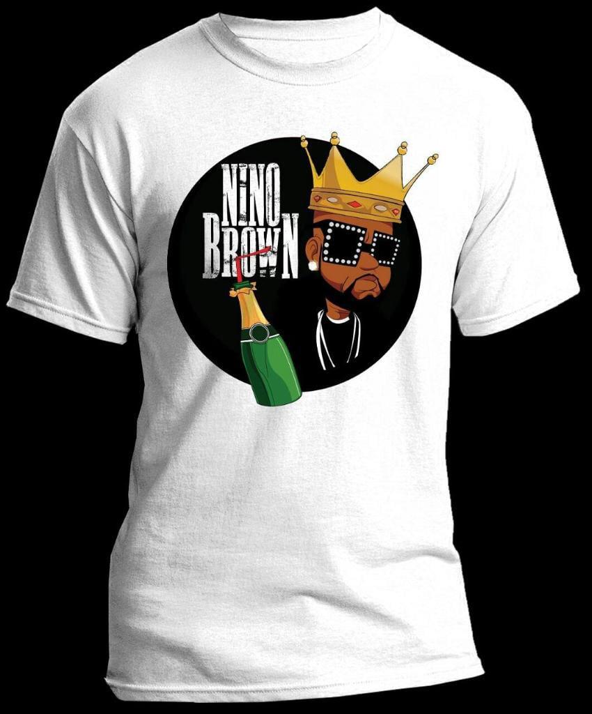 Image of Nino Brown Motivational T-Shirt