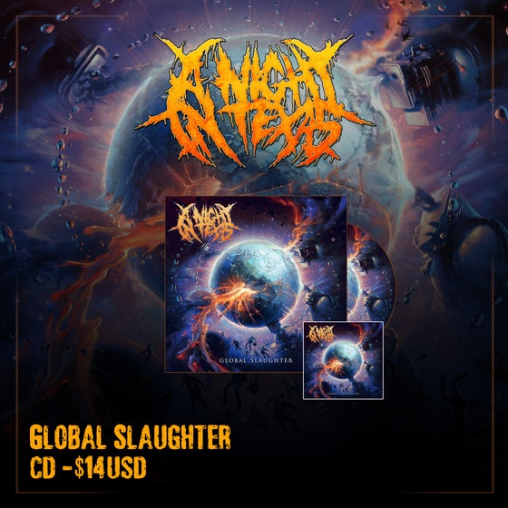 Image of Global Slaughter CD & Sticker