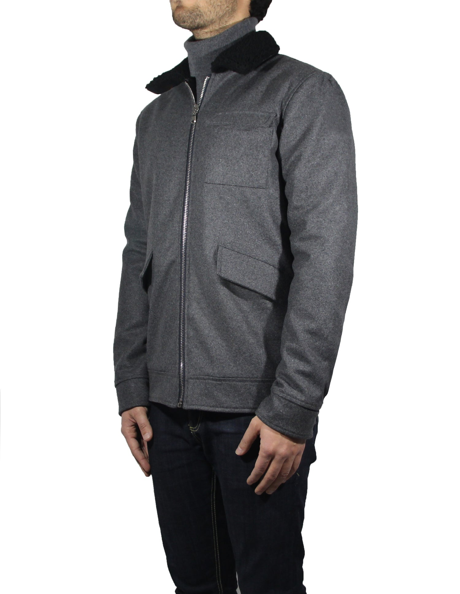 Image of GREY CASENTINO 1985 JACKET