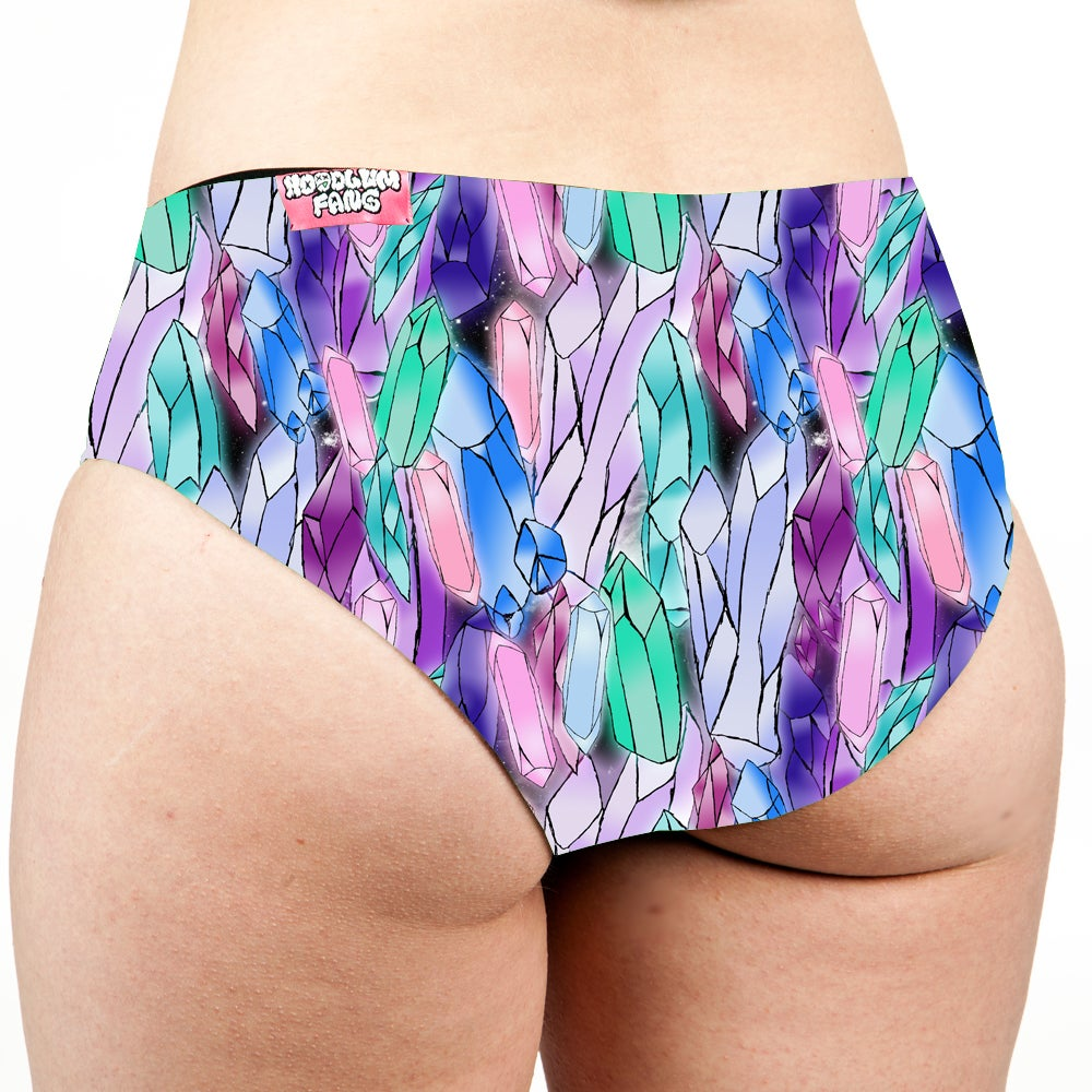 Image of Crystals Low Rise Cheeky Shorts