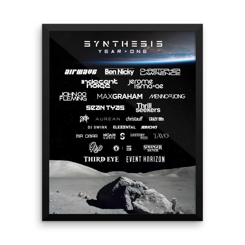 Image of Synthesis Year One Poster