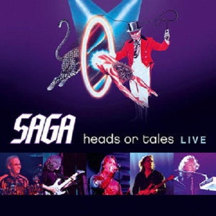 Image of SAGA - Heads Or Tales : Live - Edition Digi-pak