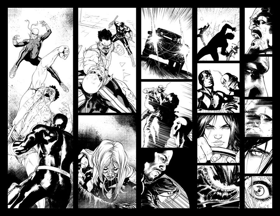 Image of DEFENDERS #6 p.06-07 ARTIST'S PROOF